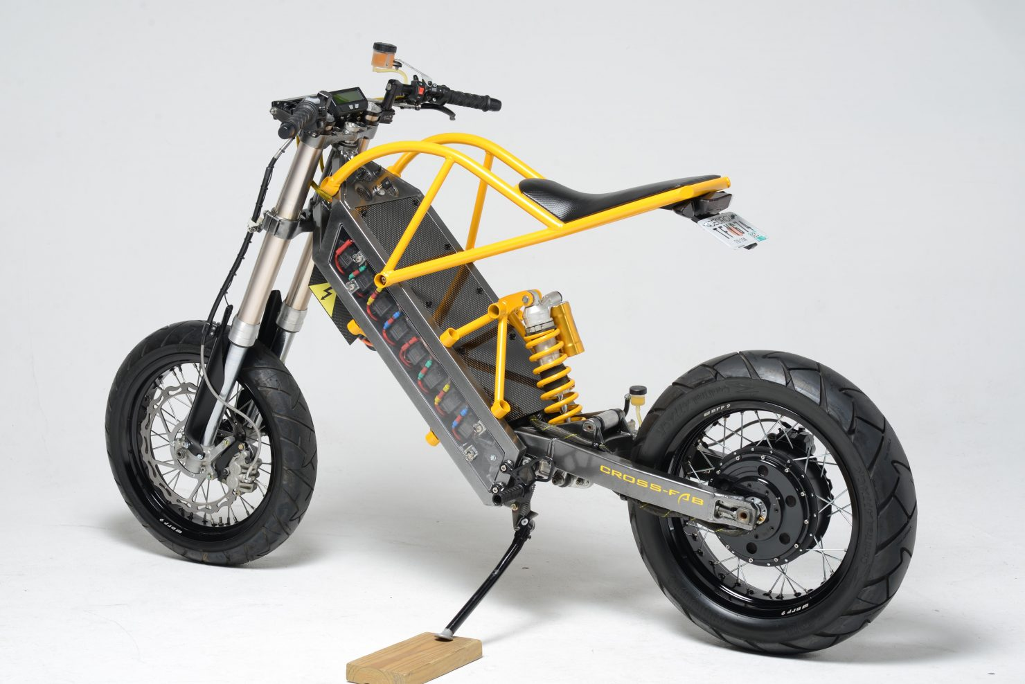 Exodyne electric motorcycle for Little motors for bicycles