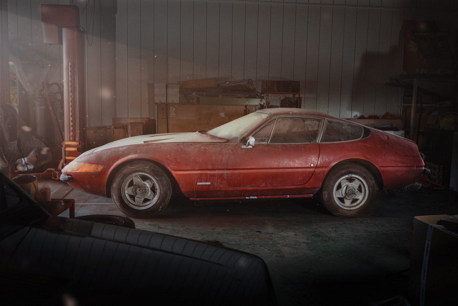 Ferrari 365 GTB4 Daytona Alloy 12 1480x987 - Barn Find: 1969 Ferrari 365 GTB/4 Daytona Alloy