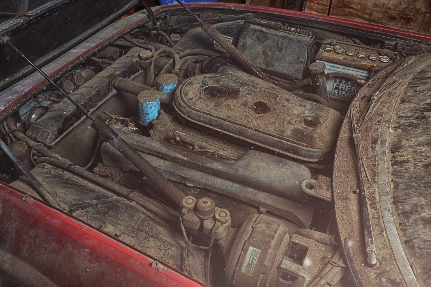 Ferrari 365 GTB4 Daytona Alloy 14 1480x987 - Barn Find: 1969 Ferrari 365 GTB/4 Daytona Alloy