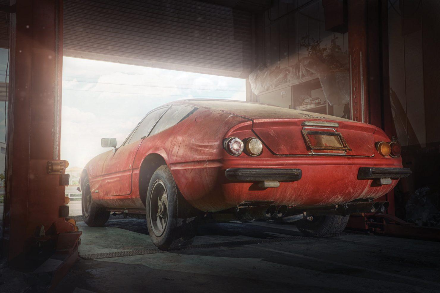 Ferrari 365 GTB4 Daytona Alloy 15 1480x987 - Barn Find: 1969 Ferrari 365 GTB/4 Daytona Alloy
