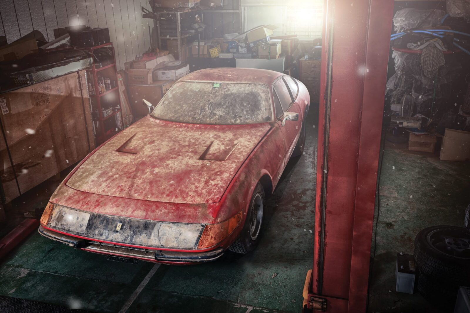 Barn Find: 1969 Ferrari 365 GTB/4 Daytona Alloy