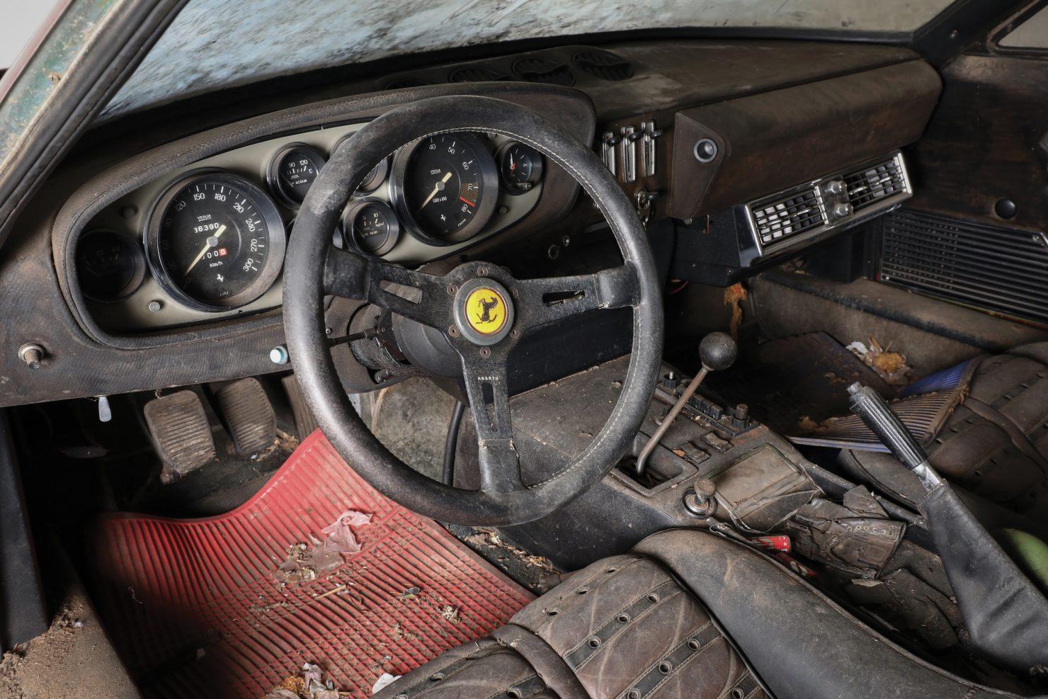 Ferrari 365 GTB4 Daytona Alloy 6 1480x987 - Barn Find: 1969 Ferrari 365 GTB/4 Daytona Alloy