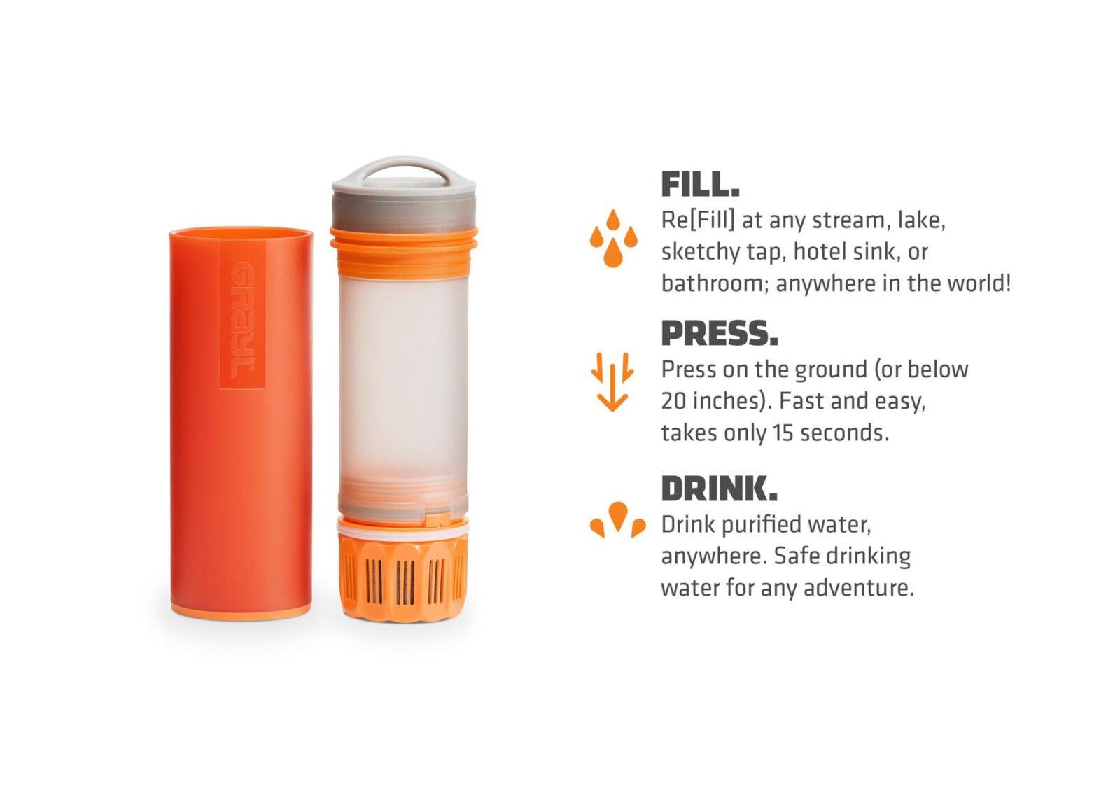 Grayl Ultralight Purification Bottle 1600x1133 - The Grayl Ultralight Purification Bottle