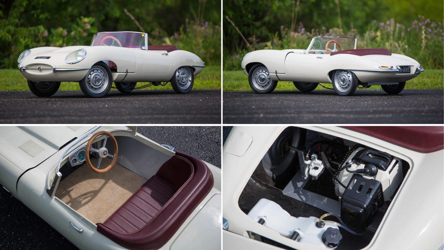 Jaguar E Type Go Kart Collage 1480x836 - Classic Car Go Karts