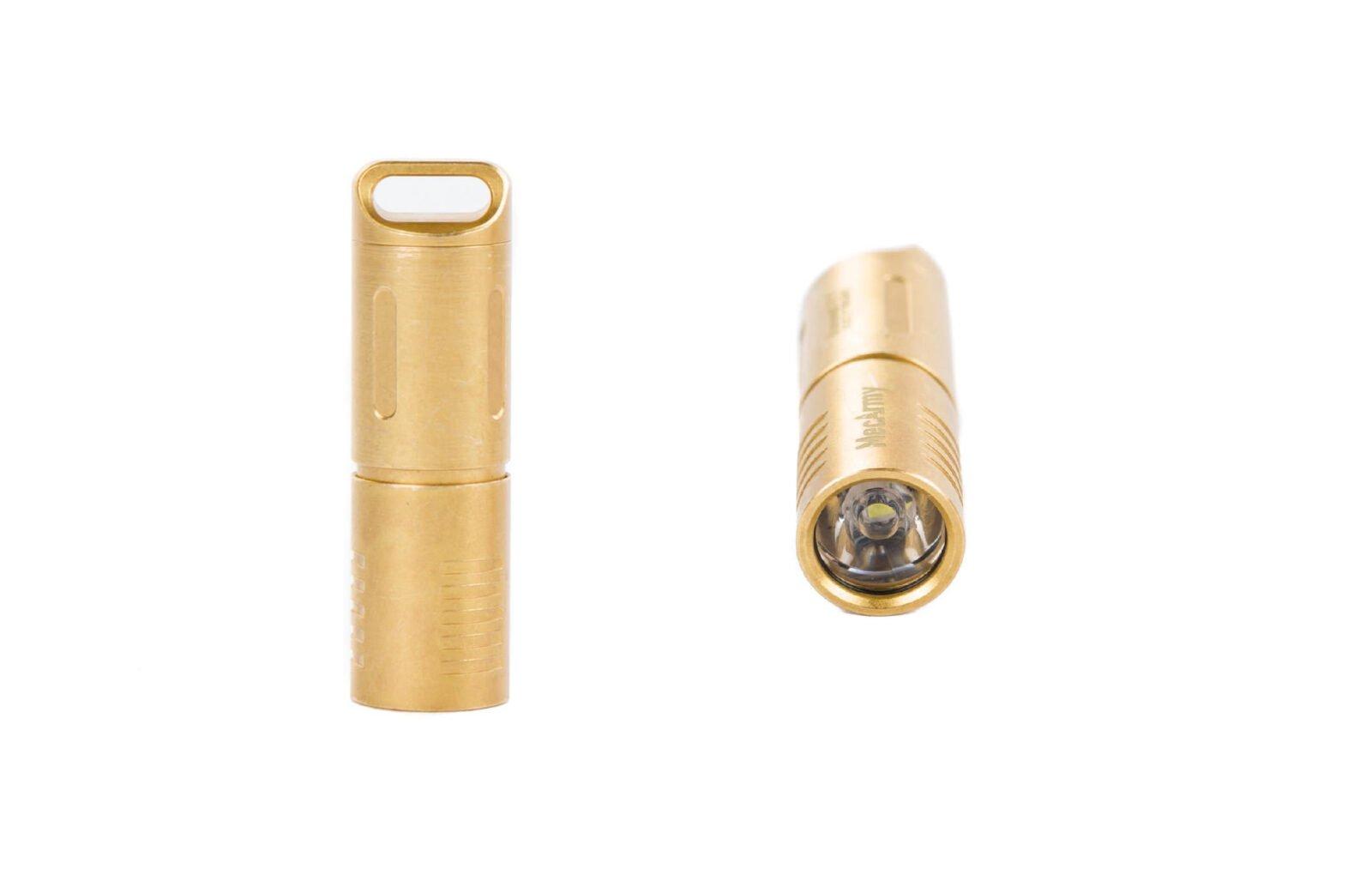 MecArmy Brass EDC Flashlight 1600x1027 - MecArmy Brass EDC Flashlight