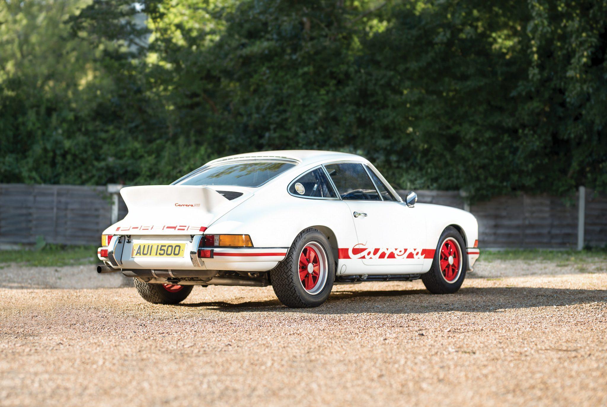 1973 Porsche 911 Carrera Rs 2 7 Lightweight