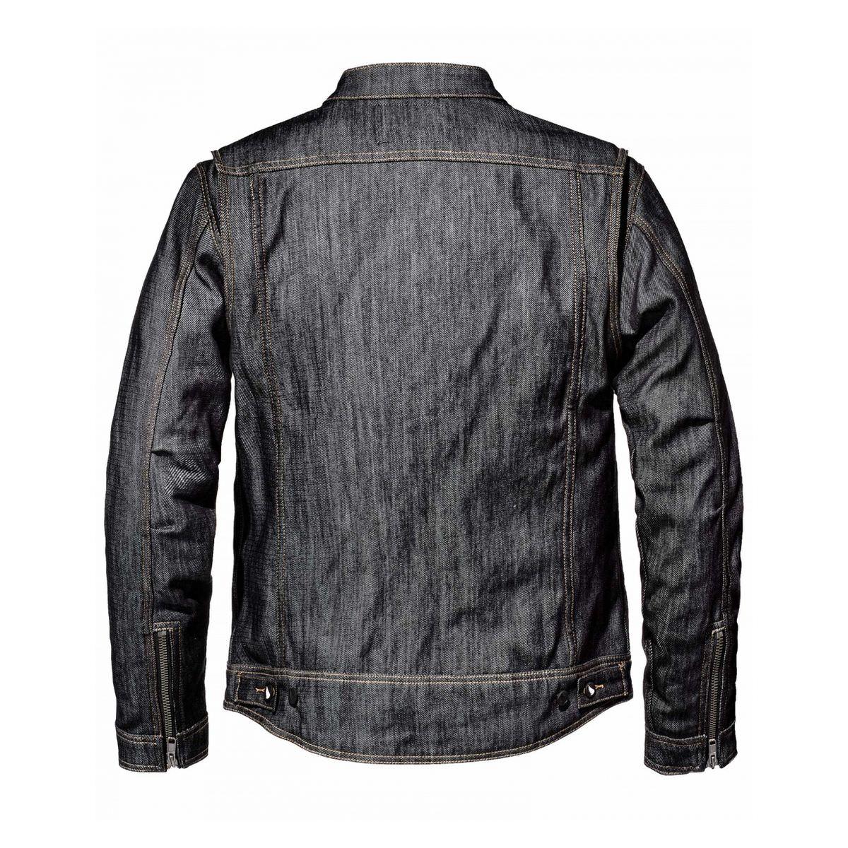 Saint Model 3014 Technical Denim Jacket 1 - Saint Model 3014 Motorcycle Denim Jacket