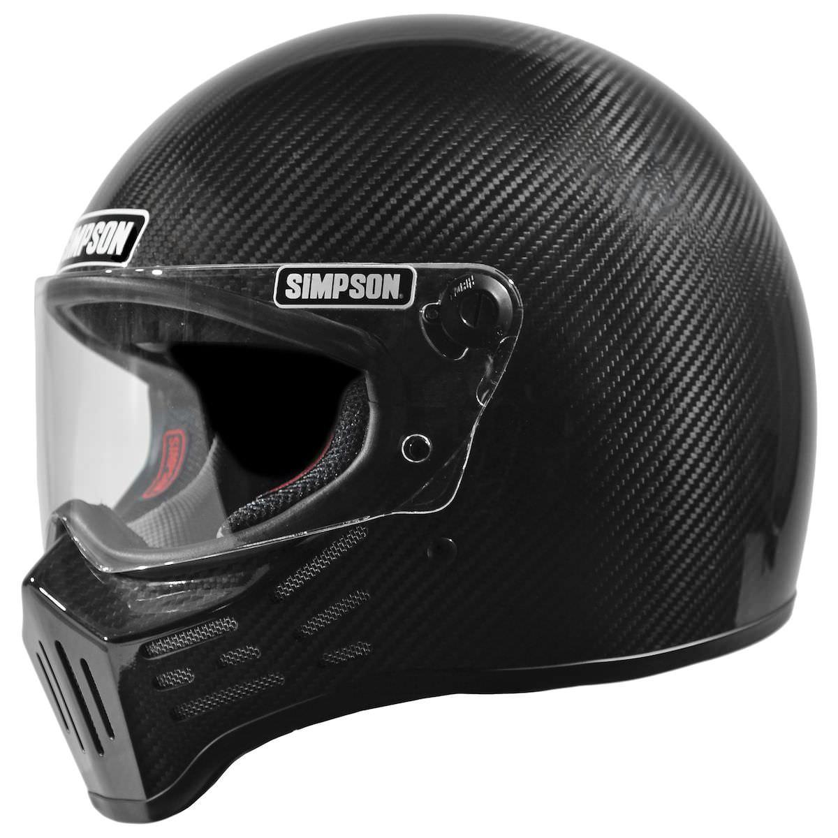 Simpson M30 Bandit Carbon Helmet 3 - Simpson M30 Bandit Carbon Helmet
