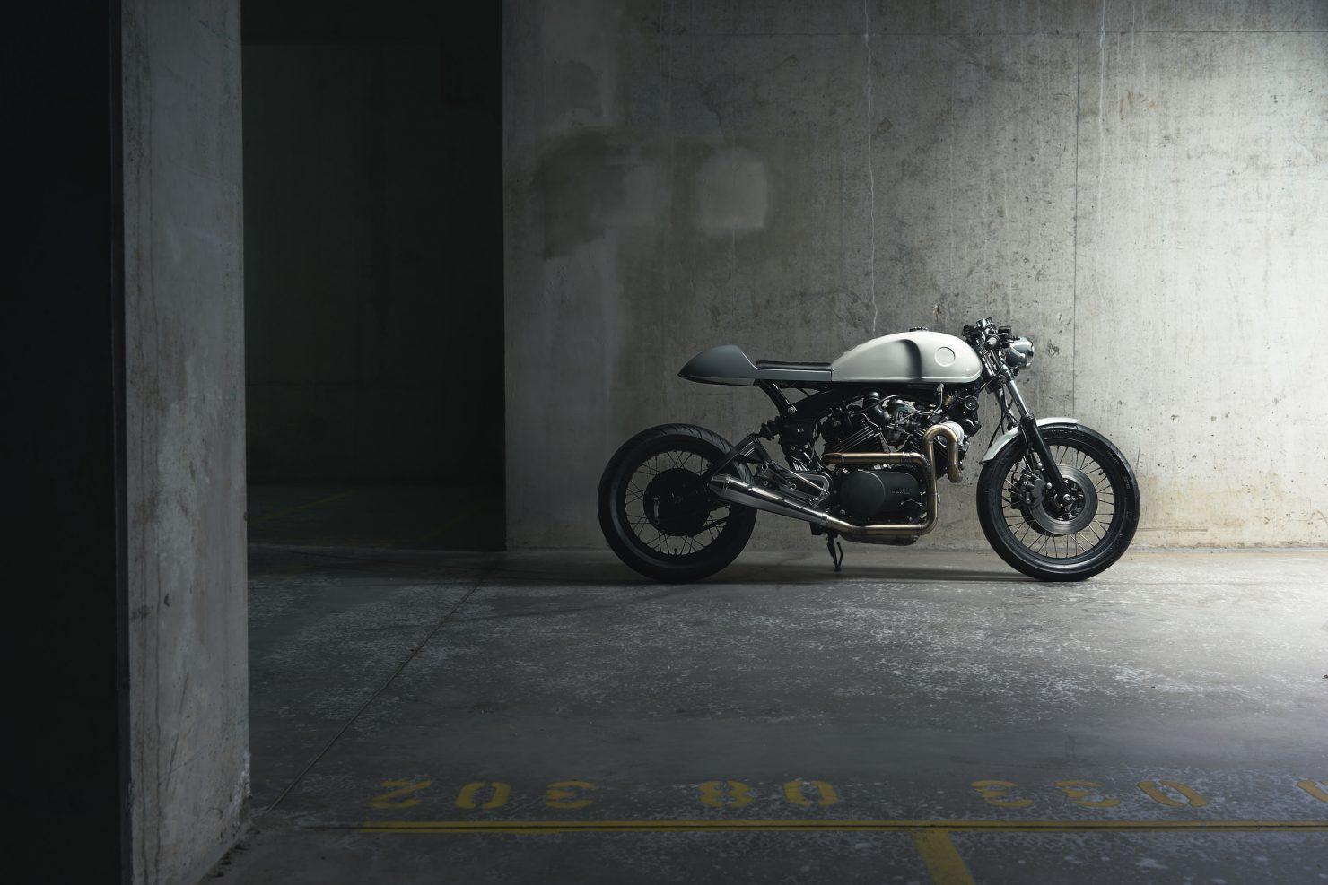 Yamaha Virago XV750 2 1480x987 - Elemental Custom Cycles Yamaha XV750