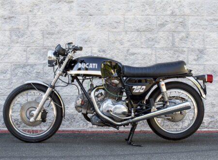 ducati 750gt 4 450x330 - Original Sandcast 1971 Ducati 750 GT