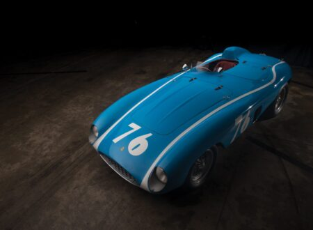 ferrari 121 lm spider 1 450x330 - 1955 Ferrari 121 LM