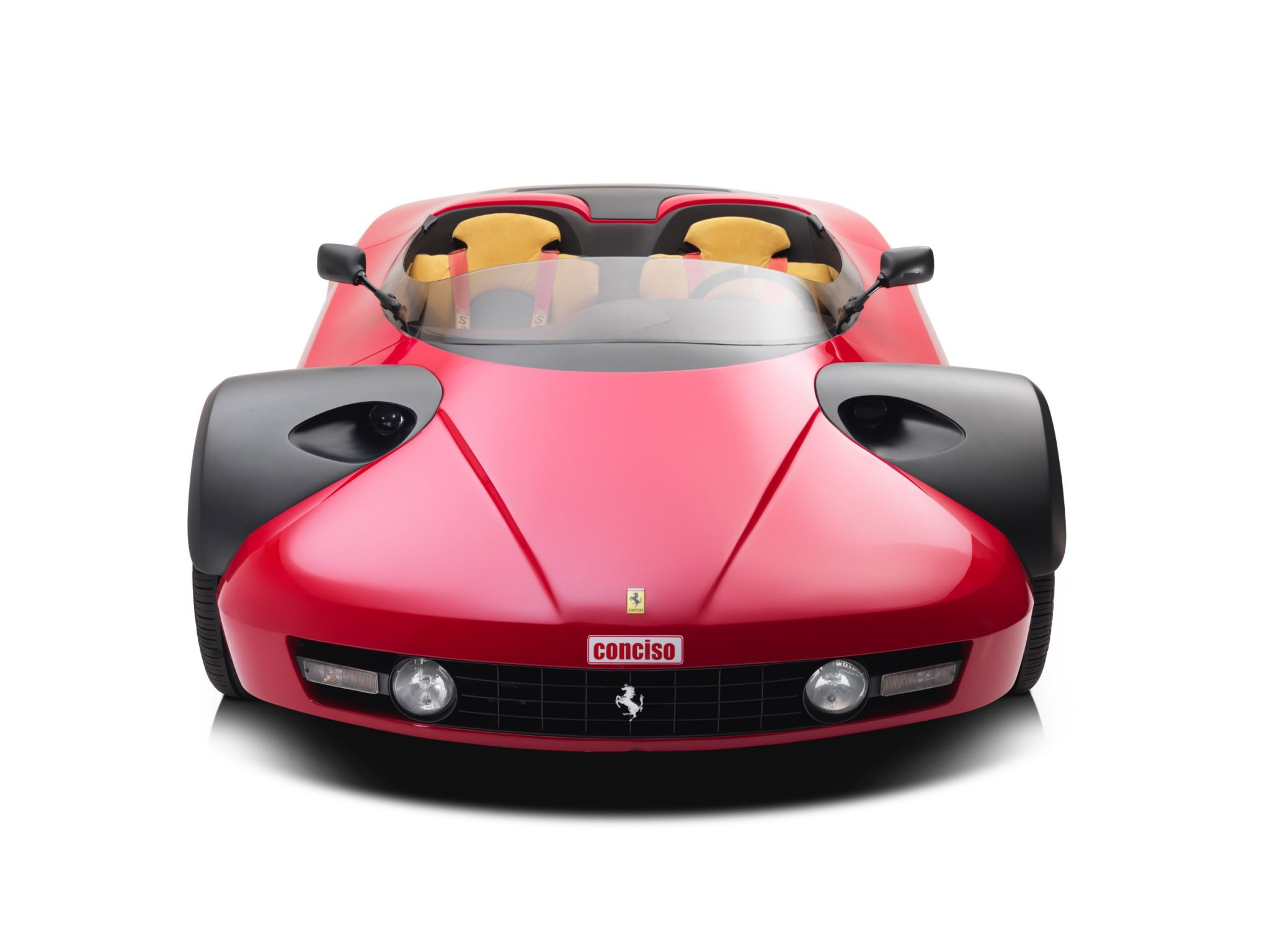 only one ever made 1989 ferrari 328 conciso. Black Bedroom Furniture Sets. Home Design Ideas