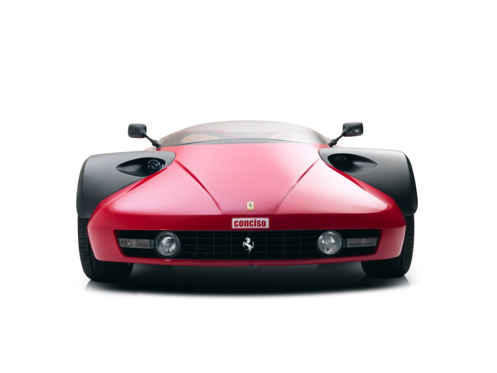 ferrari 328 conciso concept car 27 1600x1200 - Only One Ever Made: 1989 Ferrari 328 Conciso