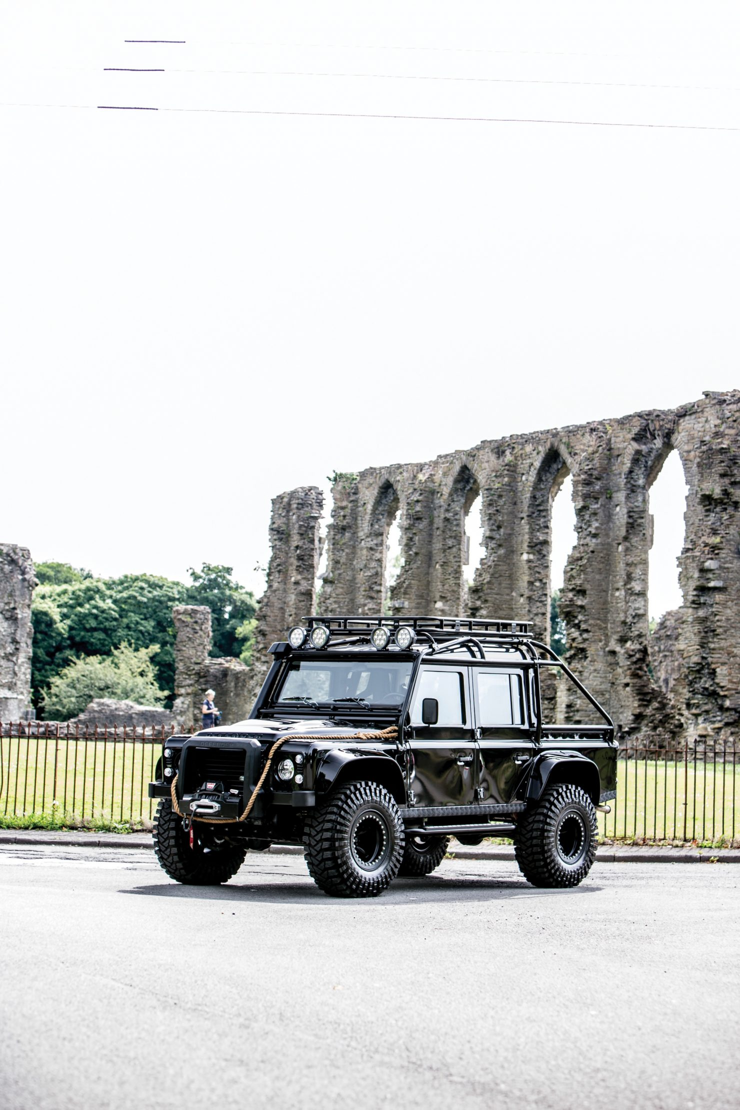 james bond spectre land rover defender svx 1 1480x2220 - Ex-James Bond Spectre - Land Rover Defender SVX