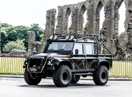 james bond spectre land rover defender svx 17 450x330 - Ex-James Bond Spectre - Land Rover Defender SVX