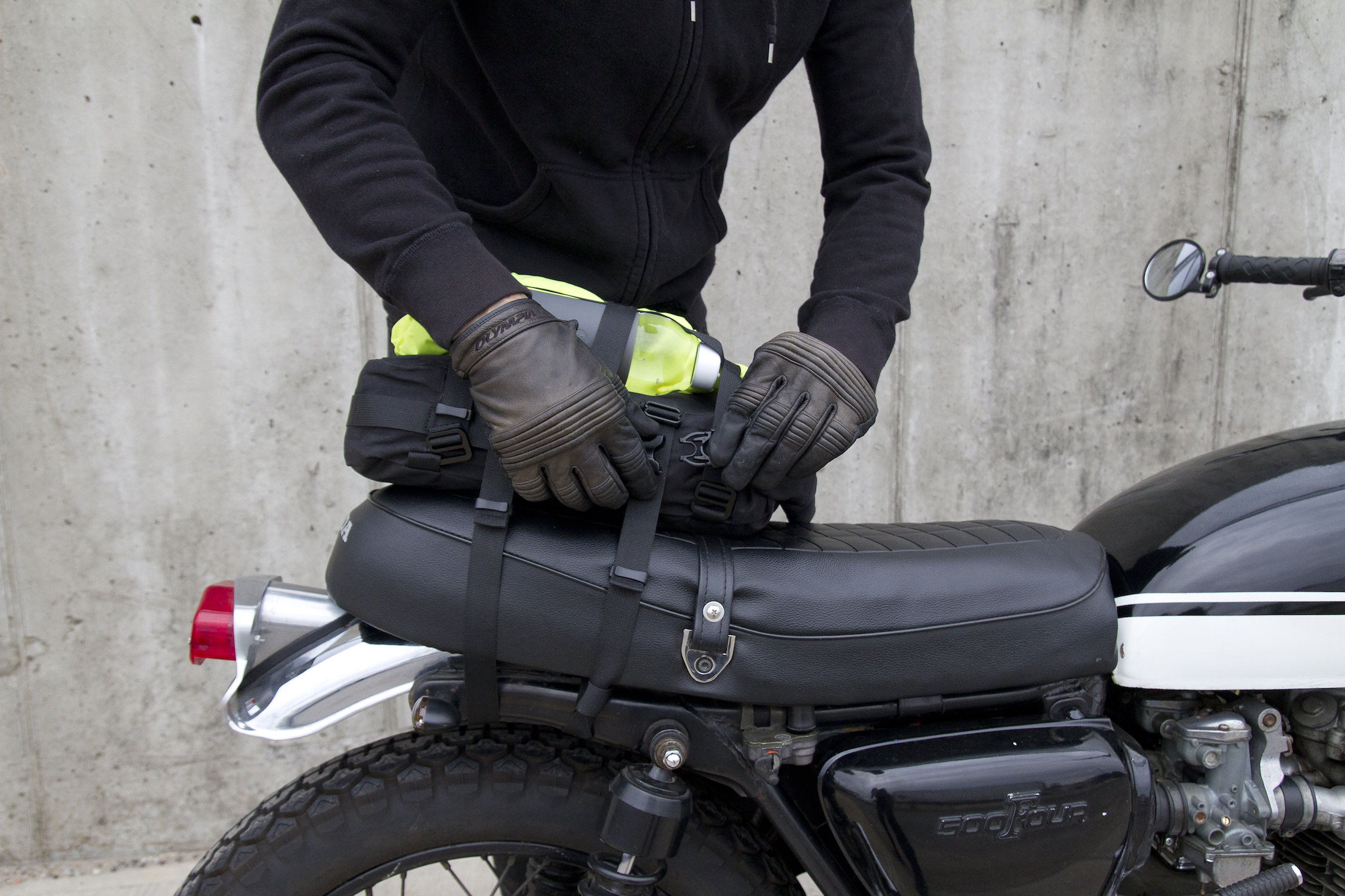 Alms Nyc 12l Cargo Motorcycle Tail Bag