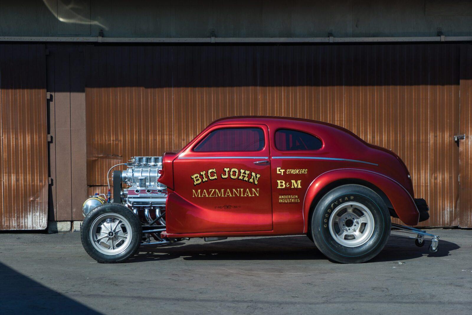 "Austin Big John Mazmanian Football Gasser 12 1600x1067 - 1967 Austin ""Big John"" Mazmanian Football Gasser"