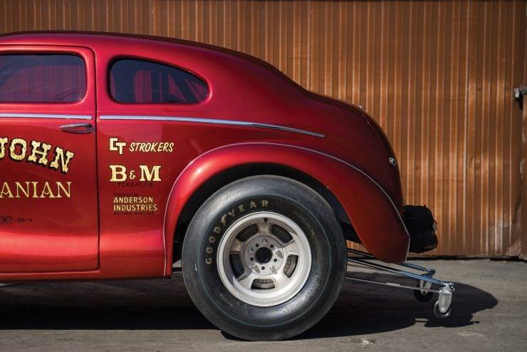 "Austin Big John Mazmanian Football Gasser 6 740x494 - 1967 Austin ""Big John"" Mazmanian Football Gasser"