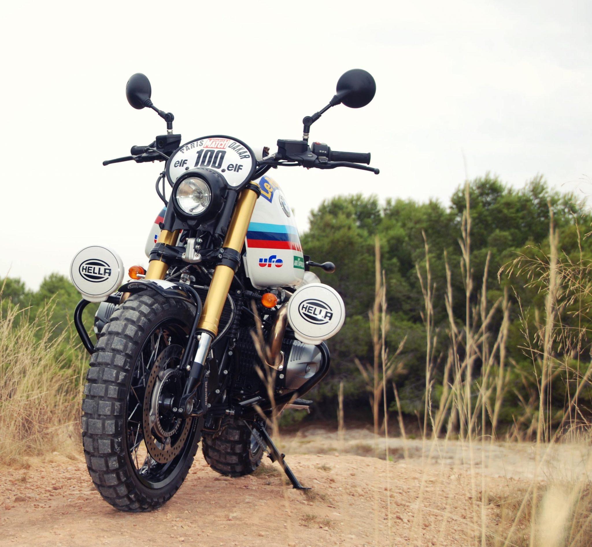 Bmwr: XTR Pepo BMW R NineT Paris Dakar