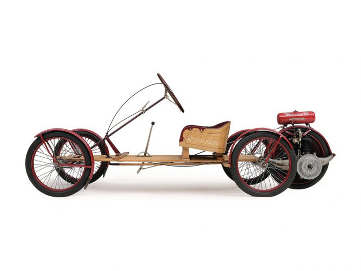Briggs Stratton Flyer 740x555 - Briggs & Stratton Motor Wheel Bicycle