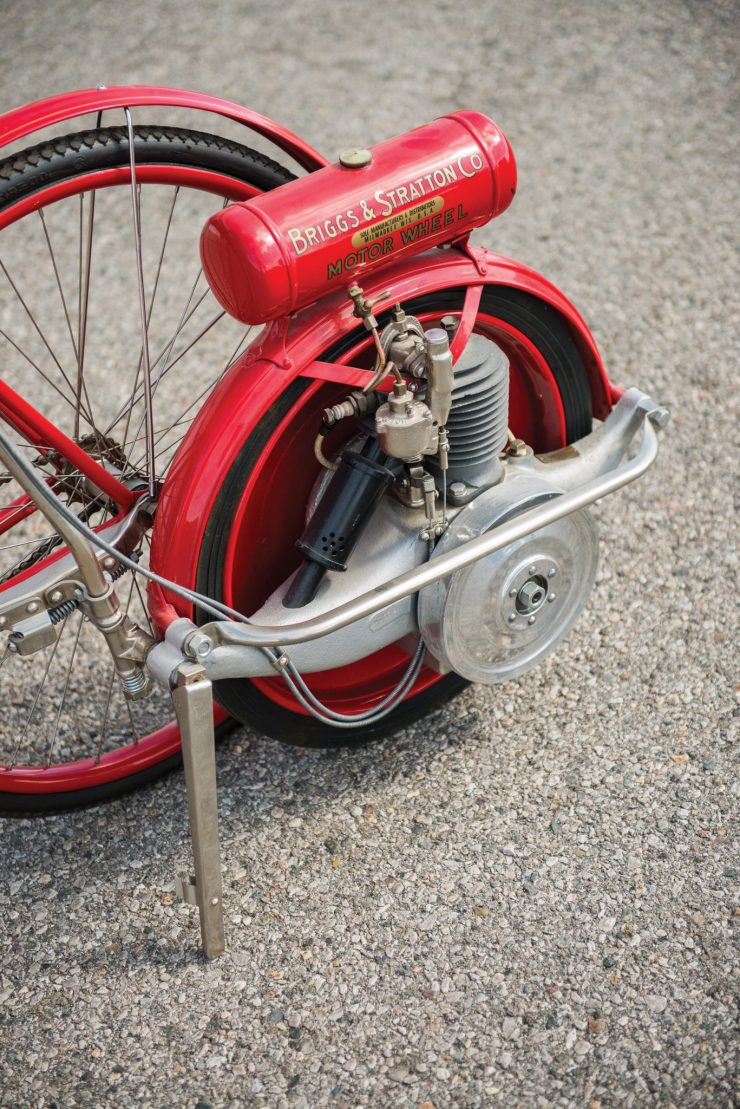 Briggs Stratton Motor Wheel Powered Bicycle 3 740x1109 - Briggs & Stratton Motor Wheel Bicycle