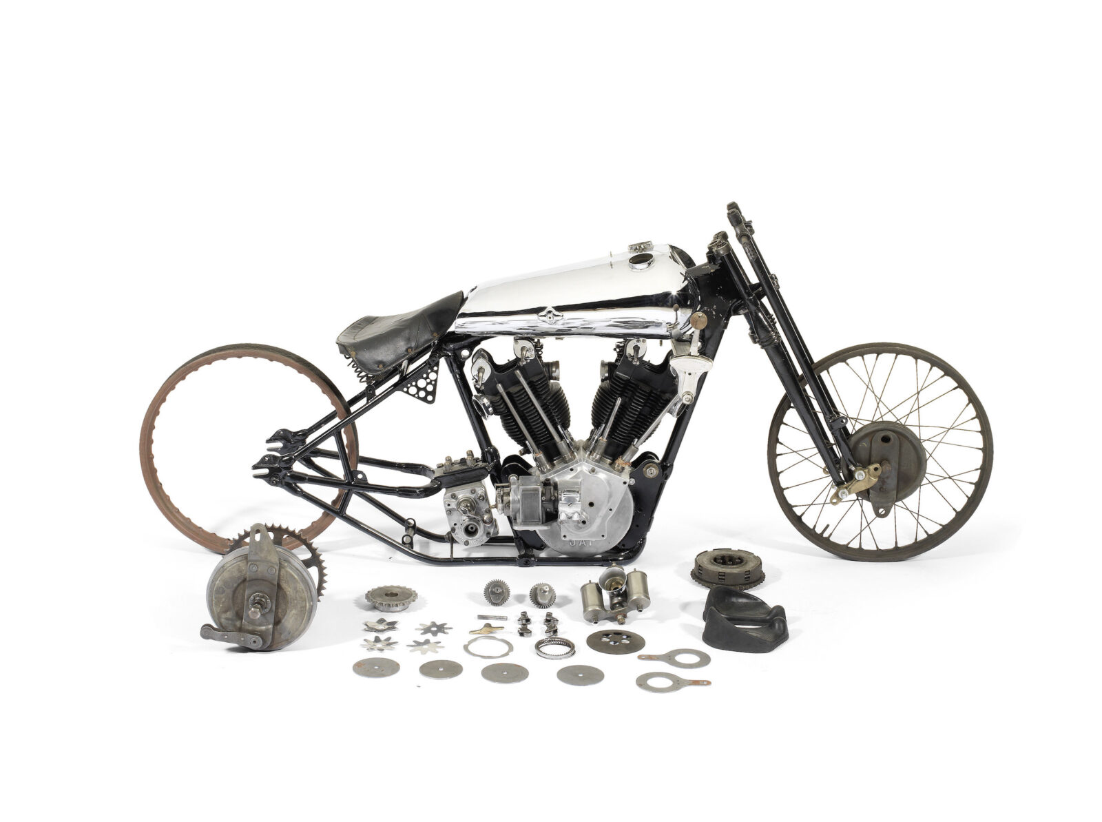 Brough Superior SS100 Pendine Project Bike 1600x1193 - $100,000 Project Bike: 1929 Brough Superior SS100 Pendine