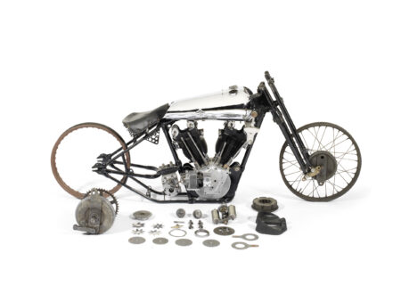 Brough Superior SS100 Pendine Project Bike 450x330 - $100,000 Project Bike: 1929 Brough Superior SS100 Pendine