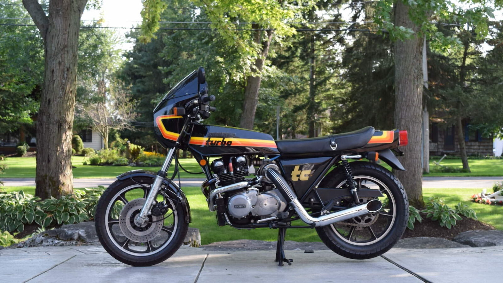 Kawasaki Z1R TC 1600x900 - 1978 Kawasaki Z1R-TC Turbo