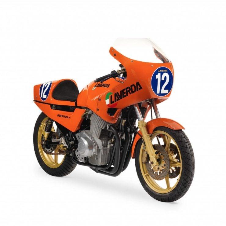 Laverda TT1 RGS 740x740 - Semi-Works Racer: 1983 Laverda TT1 RGS Corsa