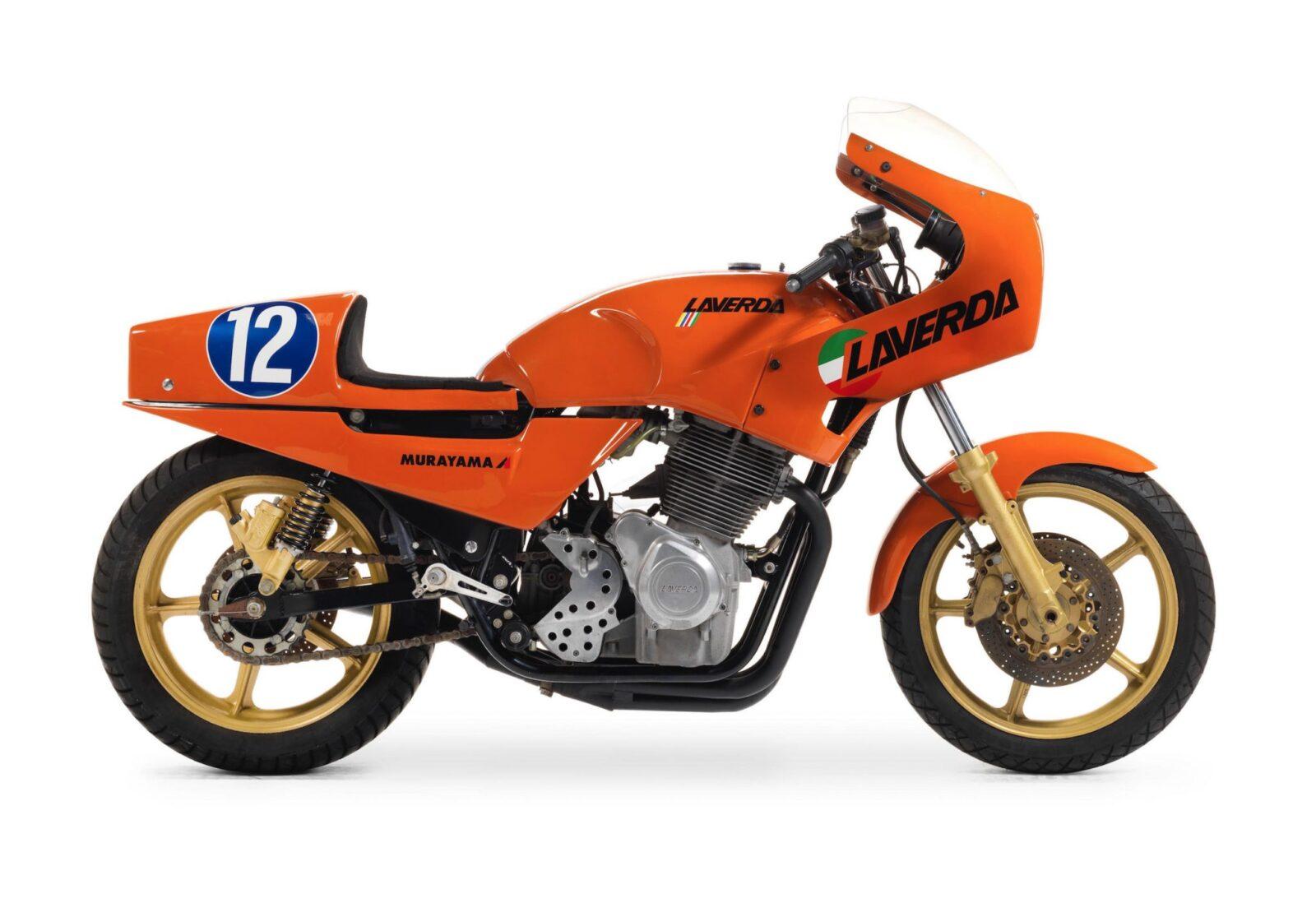 Laverda TT1 RGS Hero Image 1600x1098 - Semi-Works Racer: 1983 Laverda TT1 RGS Corsa