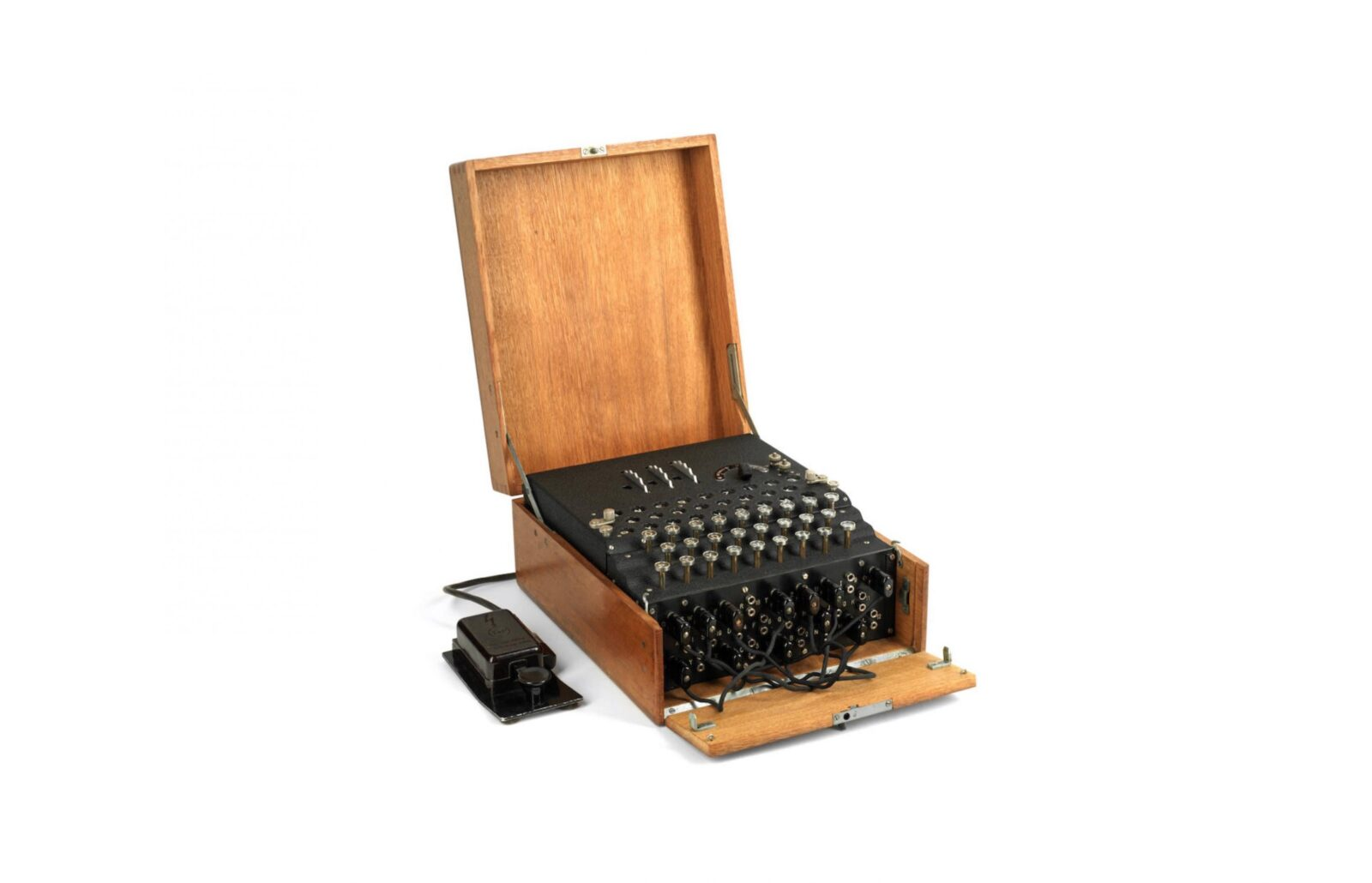Model 1 Enigma cipher machine 1600x1030 - 1933 Model 1 Enigma Cipher Machine