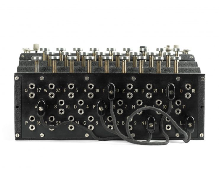 Model 1 Enigma cipher machine 3 740x592 - 1933 Model 1 Enigma Cipher Machine