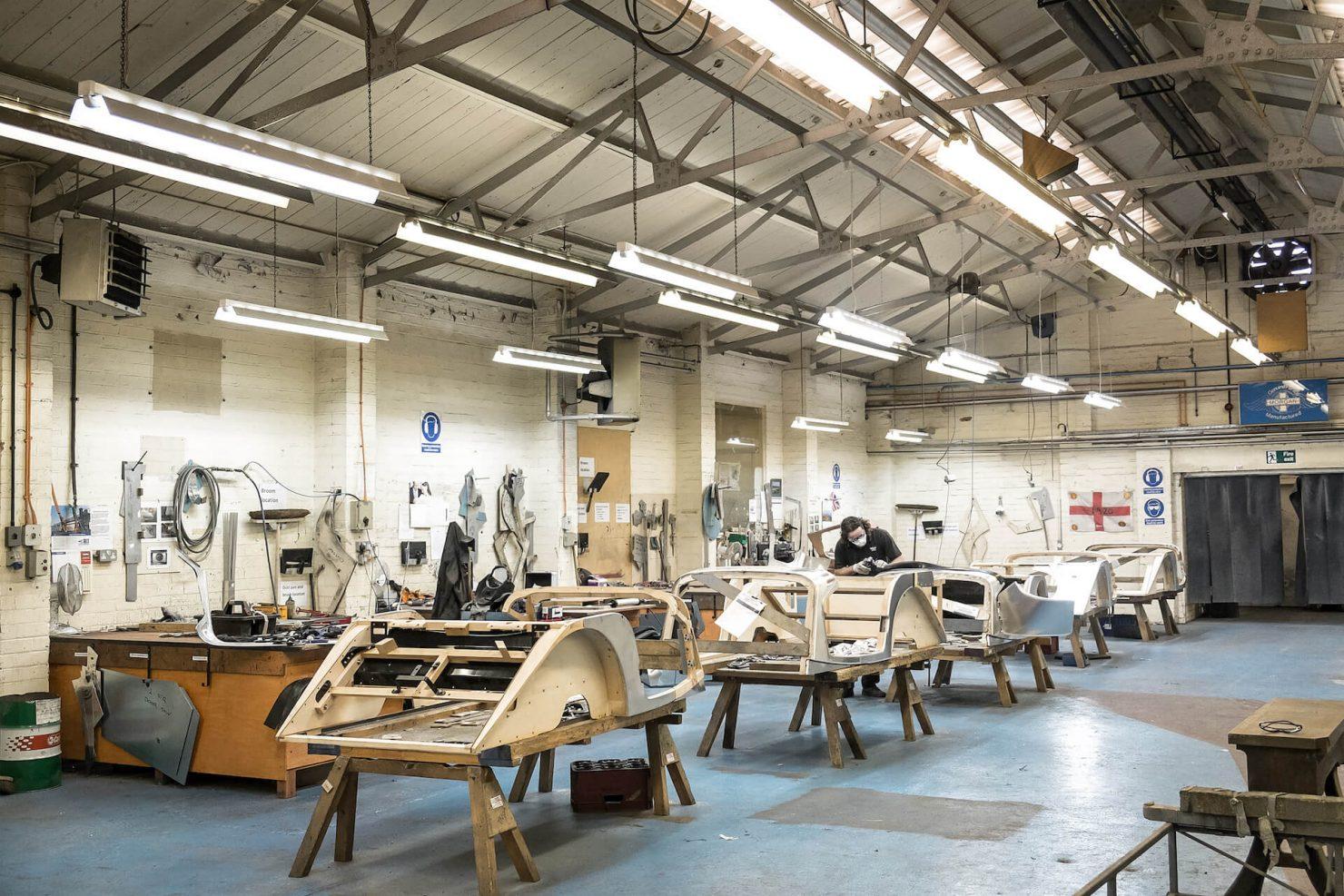 Morgan Motor Company Factory 1480x987 - Morgan: The Most Honest Car Factory in the World