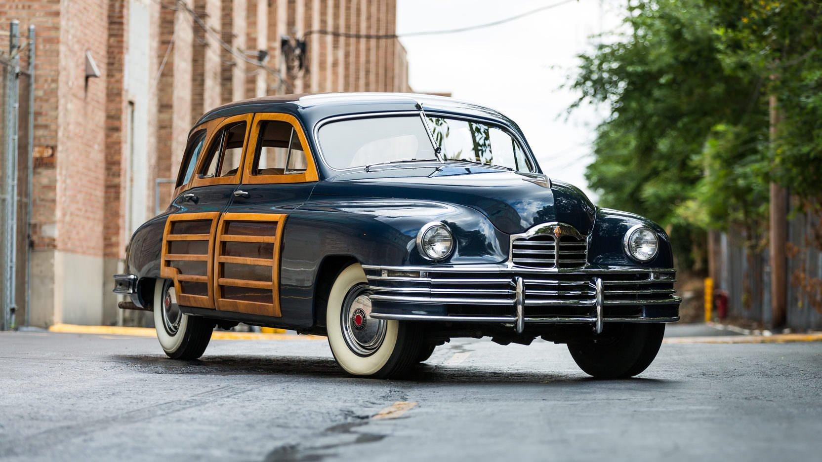 1948 Packard Eight Station Sedan Teardrop Camper