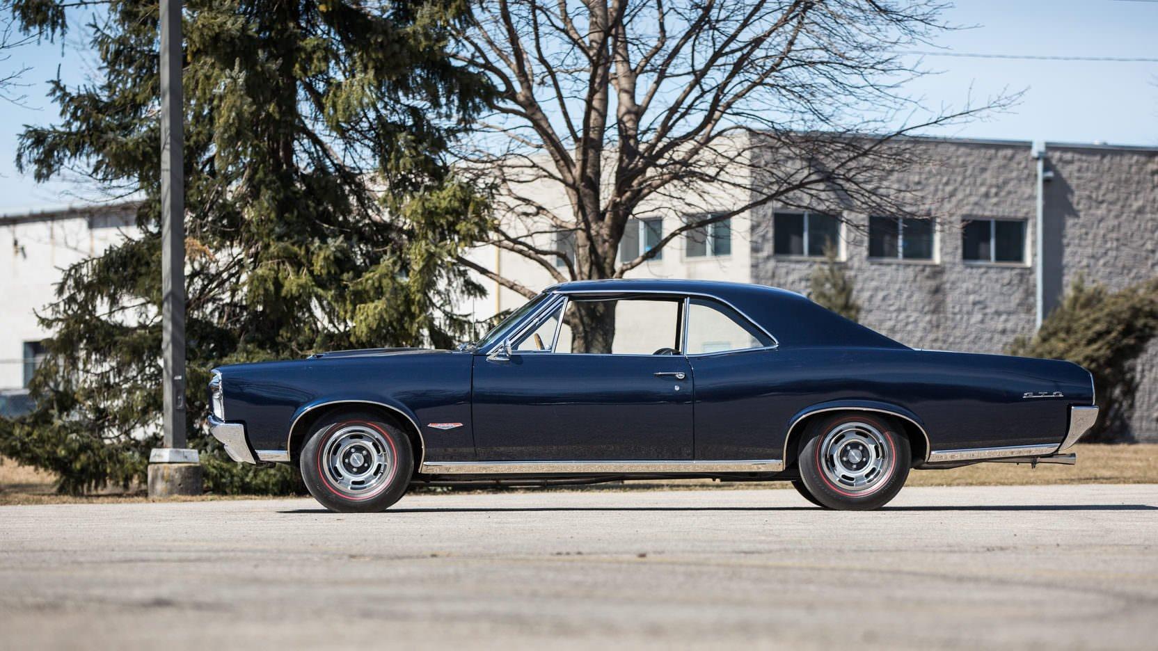 1966 Pontiac Gto Tri Power 1964 Wiring Harness Radio The Shown Here