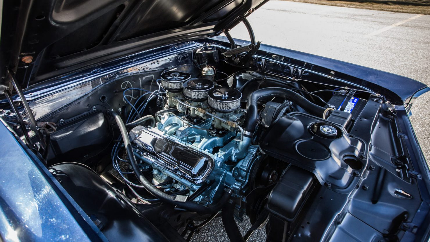 Pontiac GTO Tri Power 6 1480x833 - 1966 Pontiac GTO Tri-Power