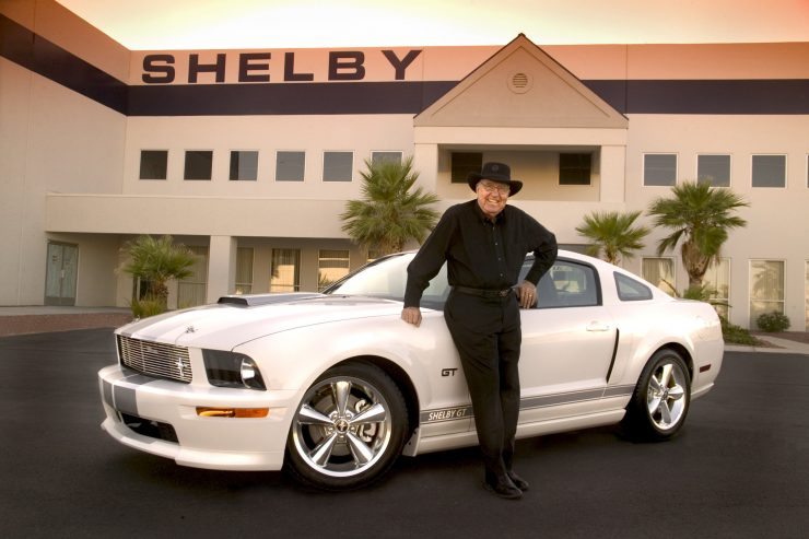 Shelby Mustang GT Concept 740x493 - 2007 Shelby Mustang GT Concept Car #1