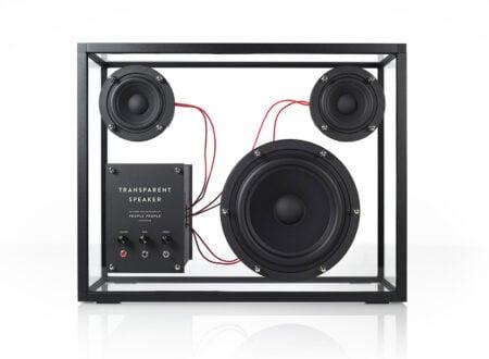 Transparent Speaker by People People 450x330 - Transparent Speaker by People People