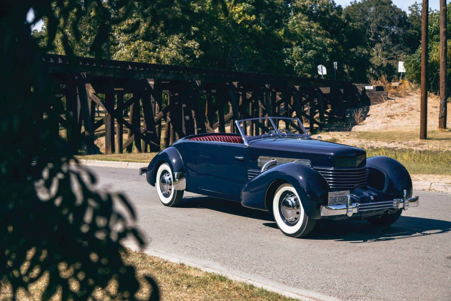 cord 812 supercharged phaeton 1 1480x987 - 1937 Cord 812 Supercharged Phaeton