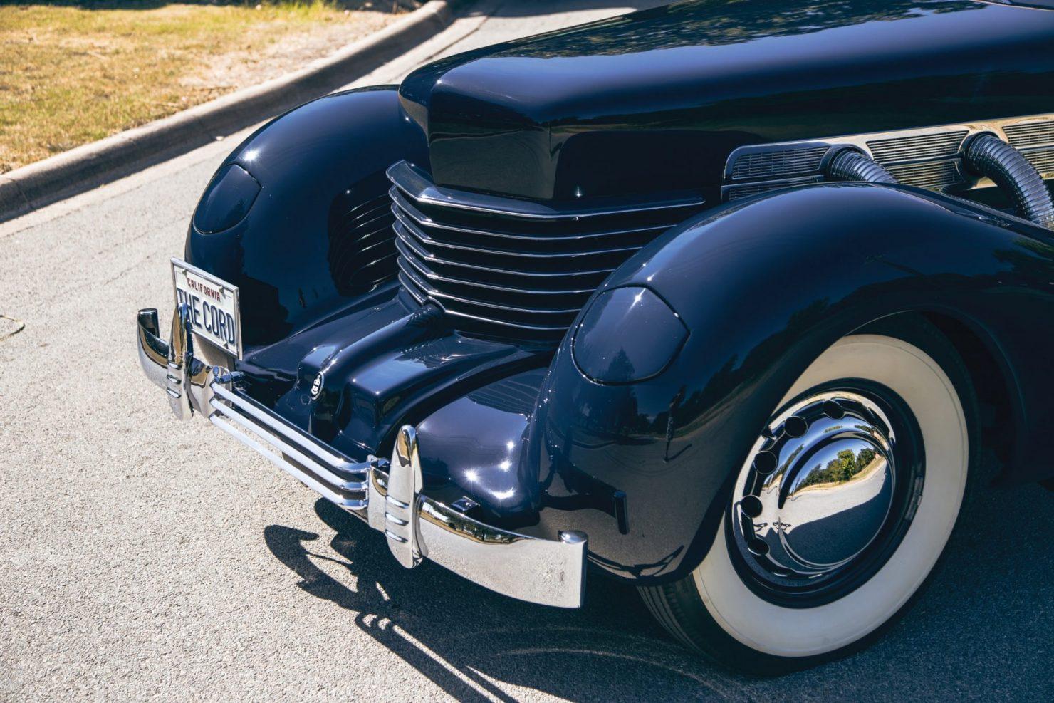 cord 812 supercharged phaeton 6 1480x987 - 1937 Cord 812 Supercharged Phaeton