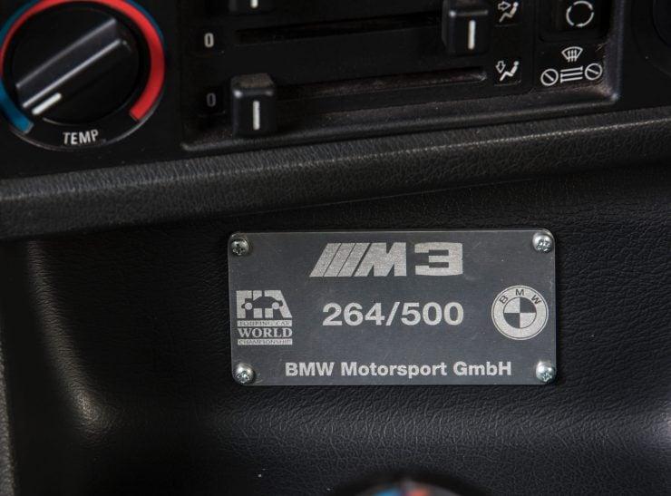 BMW M3 CAR 3 740x547 - 1988 BMW E30 M3 EVO 2