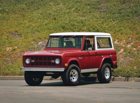 Ford Bronco 4x4 Car 450x330 - Restomod: 1968 Ford Bronco 302 V8