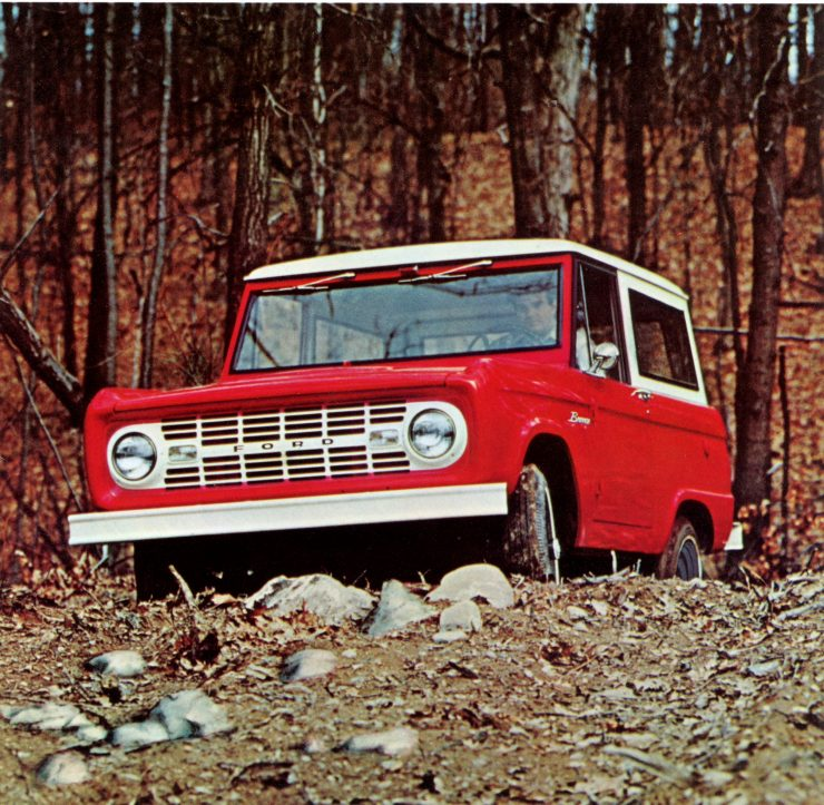 Ford Bronco advertisement