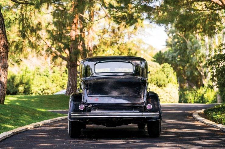 Ford Three Window Hot Rod Back 740x493 - 1932 Ford Three-Window Hot Rod