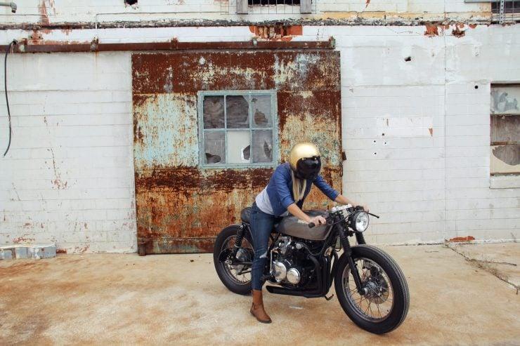 Honda CB550 12 740x493 - Jennifer Bailey's Honda CB550