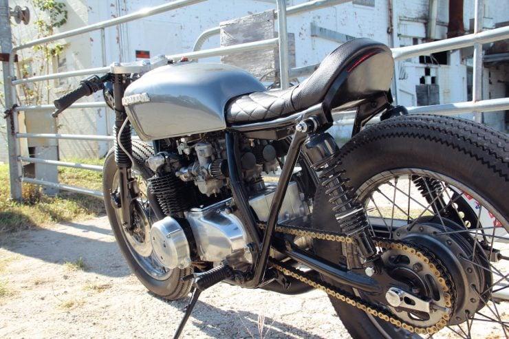 Honda CB550 2 740x493 - Jennifer Bailey's Honda CB550