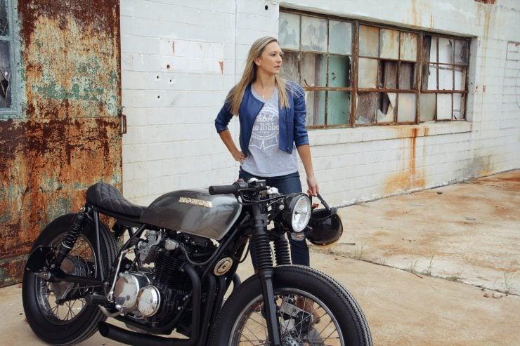 Honda CB550 5 740x493 - Jennifer Bailey's Honda CB550