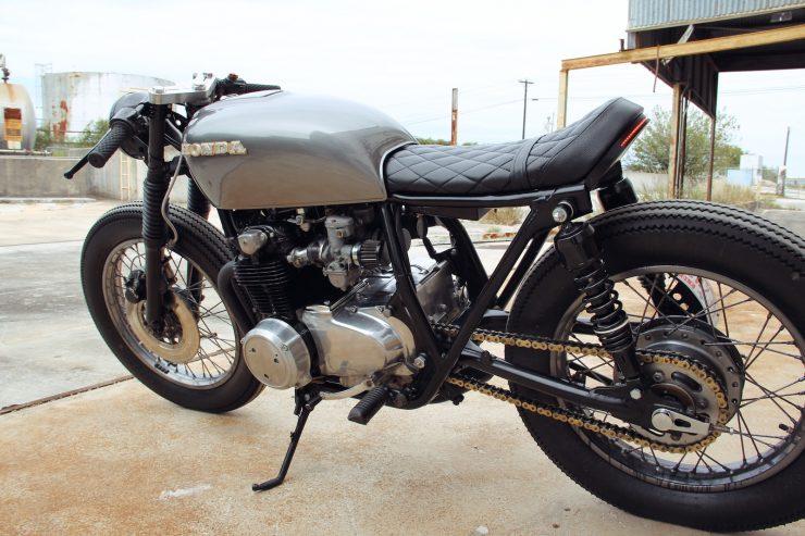 Honda CB550 8 740x493 - Jennifer Bailey's Honda CB550