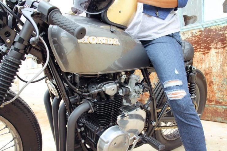 Honda CB550 9 740x493 - Jennifer Bailey's Honda CB550