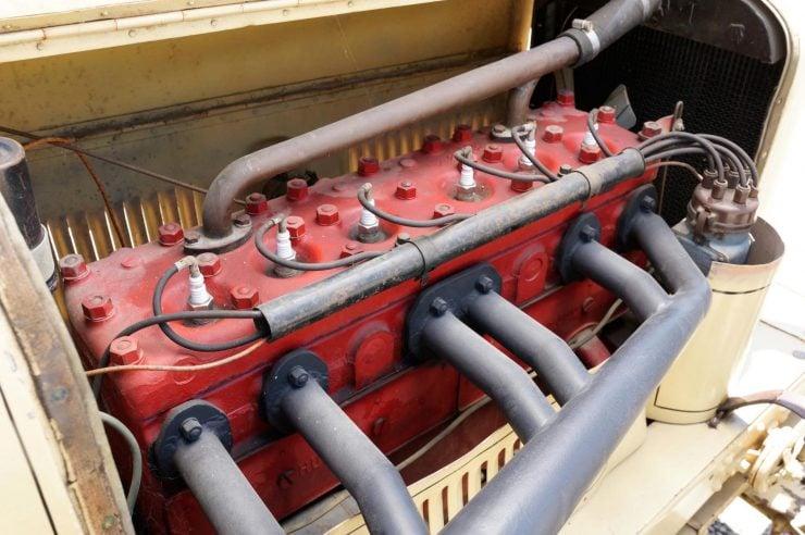Hudson Super Six Racing Car Engine 2 740x492 - 1920 Hudson Super Six Racing Car